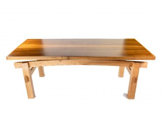 Black Willow and Maple Floating Top Coffee Table